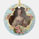 Ornamento joven del navidad de Marie Antonieta Ornatos