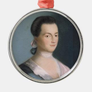 Ornamento joven del retrato de Abigail Adams Adorno Para Reyes
