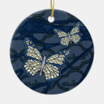 Ornamento judío del monarca adornos de navidad
