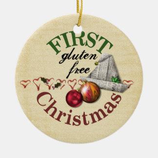 Ornamento libre del navidad del primer gluten adorno de navidad