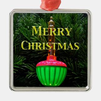 Ornamento ligero del árbol de navidad de la ornato