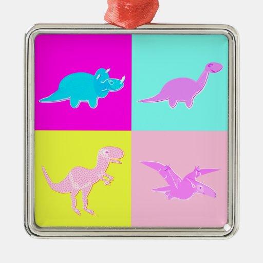 Ornamento lindo de los dinosaurios del ornato