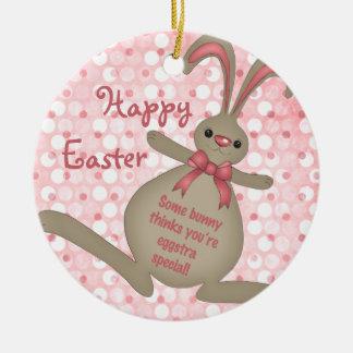 Ornamento lindo de Pascua del conejo de conejito d Ornamento De Reyes Magos