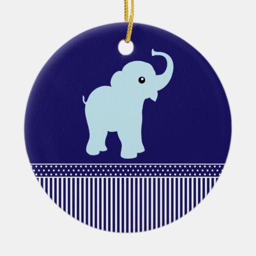 Ornamento lindo del azul de los lunares y de las adorno de reyes
