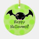ornamento lindo del feliz Halloween del palo de la Adorno Para Reyes