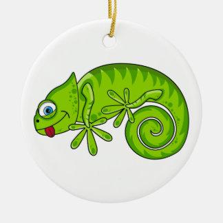 Ornamento lindo del Gecko Ornamentos De Reyes Magos