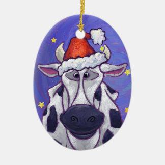 Ornamento lindo del navidad de la vaca ornamento para reyes magos