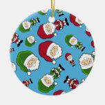 Ornamento lindo del navidad de Papá Noel Ornamento Para Reyes Magos
