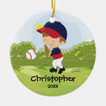 Ornamento lindo del navidad del deporte del jugado ornaments para arbol de navidad