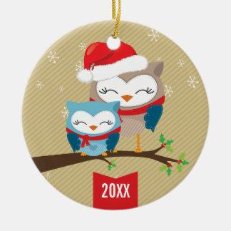 ORNAMENTO LINDO DEL NAVIDAD pares festivos del b Ornamentos De Navidad