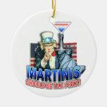 Ornamento - los martinis deben ser exentos de impu adornos de navidad