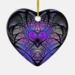 Ornamento luminescente del árbol del fractal del c ornamento de reyes magos