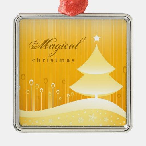 Ornamento mágico del personalizado del navidad ornamento para reyes magos