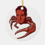 Ornamento malhumorado del día de fiesta ornaments para arbol de navidad