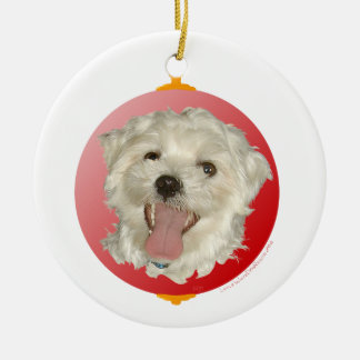 Ornamento maltés feliz del navidad adorno de navidad