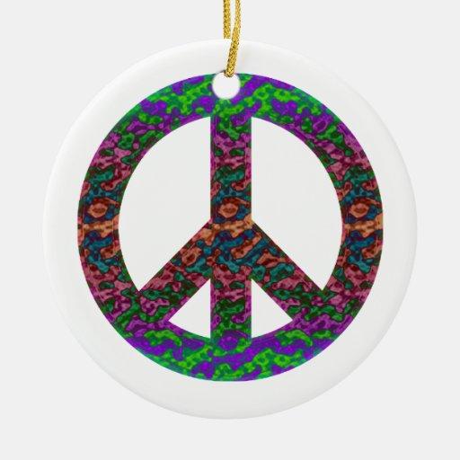 Ornamento maravilloso de la paz ornamentos de reyes