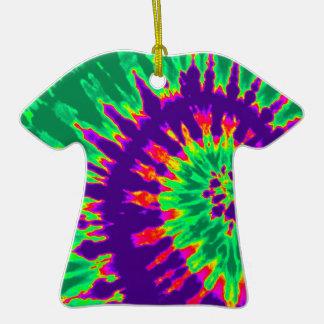 Ornamento maravilloso púrpura y verde de la camise ornamentos de navidad