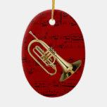 Ornamento - Mellophone - escoja su color Adorno De Reyes