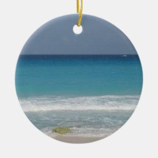 Ornamento mexicano de la playa adorno de navidad