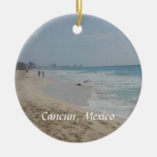Ornamento mexicano de la playa ornamento para reyes magos