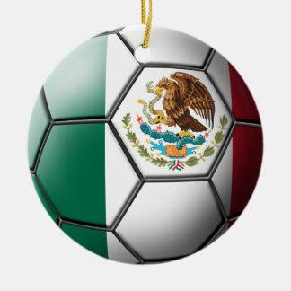 Ornamento mexicano del fútbol ornamentos de reyes