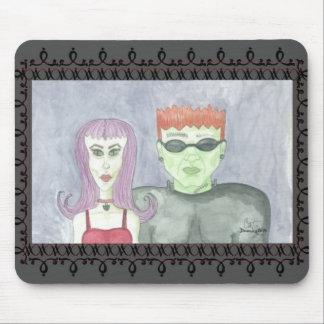 Ornamento Mousepad de Thirteena y de Frankenbiff Alfombrillas De Ratones