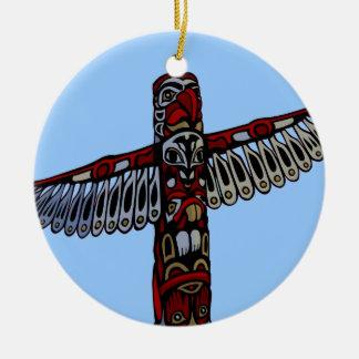 Ornamento nativo Souveni del tótem de las decoraci Ornamento De Reyes Magos