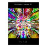 Ornamento náutico #3 del fractal tarjetón
