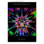 Ornamento náutico #4 del fractal tarjeton