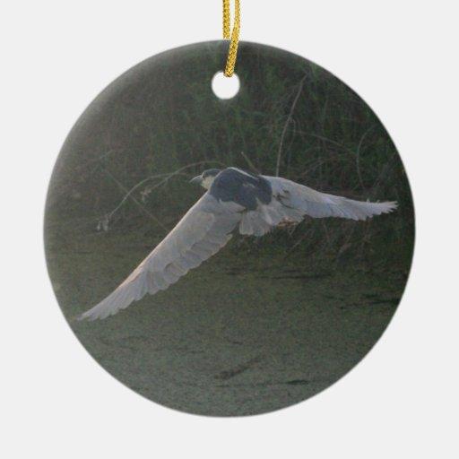 Ornamento Negro-Coronado de la Noche-Garza Ornamente De Reyes