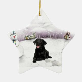 Ornamento negro del navidad del laboratorio ornamento para arbol de navidad