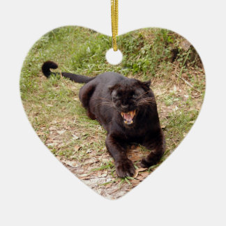 Ornamento negro del navidad del leopardo ornamente de reyes