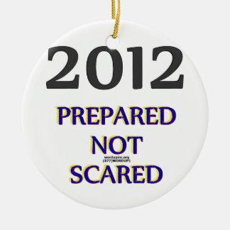 Ornamento no asustado preparado 2012 adorno para reyes