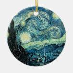 Ornamento - noche estrellada ornamento para reyes magos