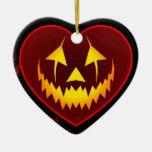 Ornamento oscuro de la linterna de Jack O del Ornatos