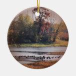 Ornamento para el amante de naturaleza ornamentos de navidad