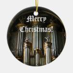 Ornamento parisiense del navidad del órgano ornamentos de reyes magos