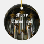 Ornamento parisiense redondo del navidad del adornos de navidad