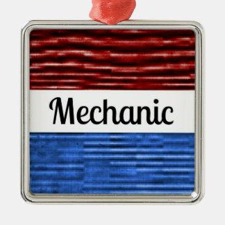 Ornamento patriótico del navidad del mecánico ornamento de reyes magos