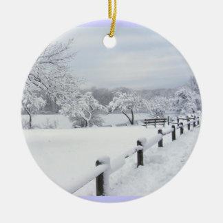 Ornamento pegajoso del ~ de la nieve 7 adornos