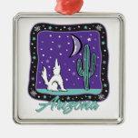 Ornamento pendiente de plata de Arizona Ornamento Para Arbol De Navidad