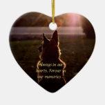Ornamento perdido del mascota ornaments para arbol de navidad