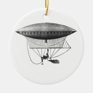Ornamento personal del dirigible adornos de navidad