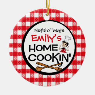 Ornamento personalizado Cookin casero Ornaments Para Arbol De Navidad
