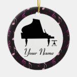 Ornamento personalizado de la música del regalo de ornamento de reyes magos