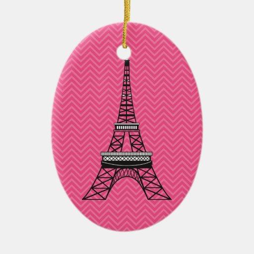 Ornamento personalizado de la torre Eiffel de Ornamento Para Reyes Magos