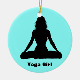 Ornamento personalizado de la yoga ornamente de reyes