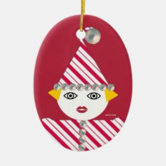 Ornamento personalizado de Martzkin de la malla Ornamento Para Arbol De Navidad