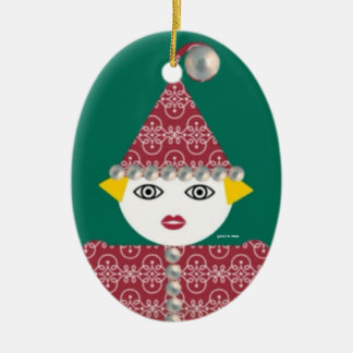 Ornamento personalizado de Martzkin de la malla Ornamentos De Navidad