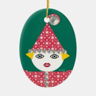 Ornamento personalizado de Martzkin de la malla Ornamentos De Reyes